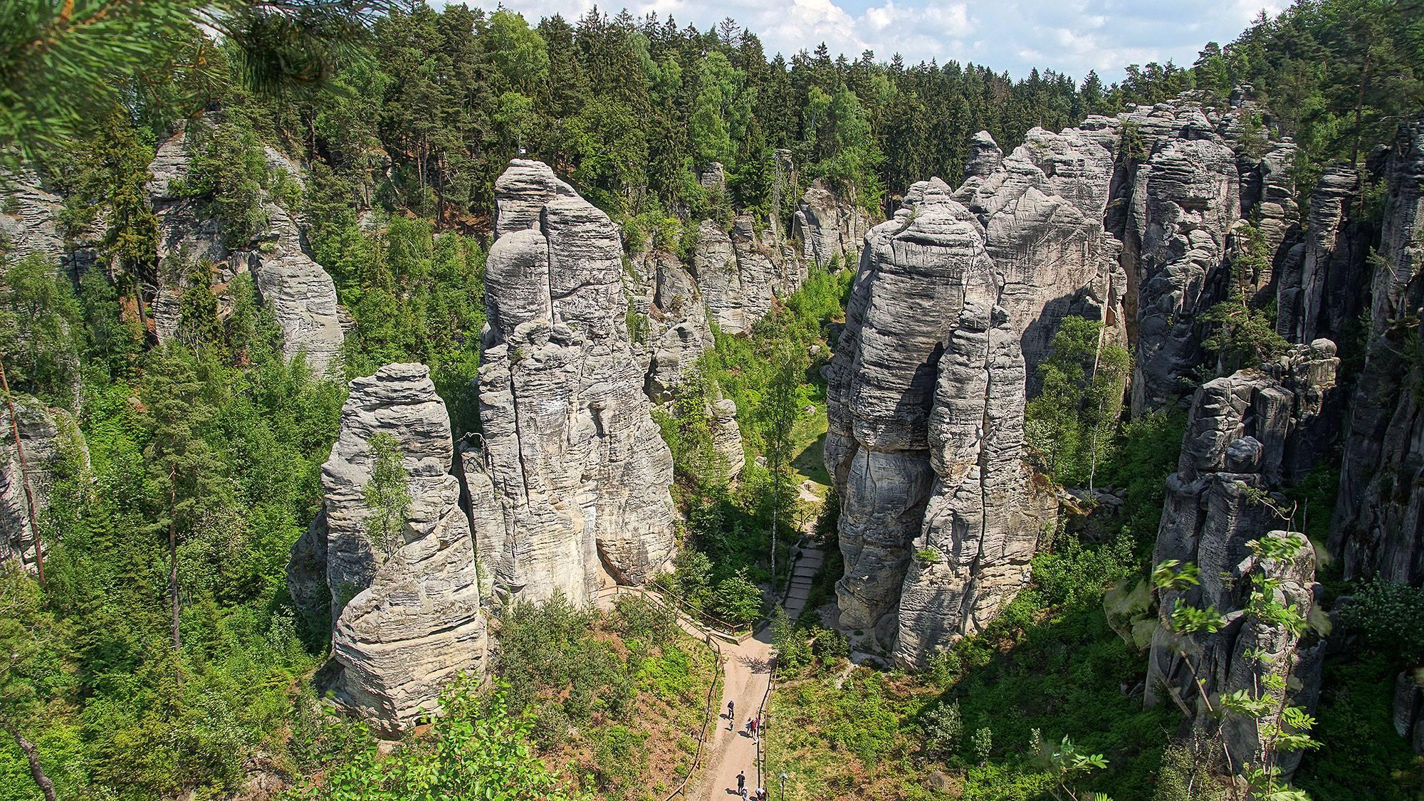Prachovské skály – Czeski Raj