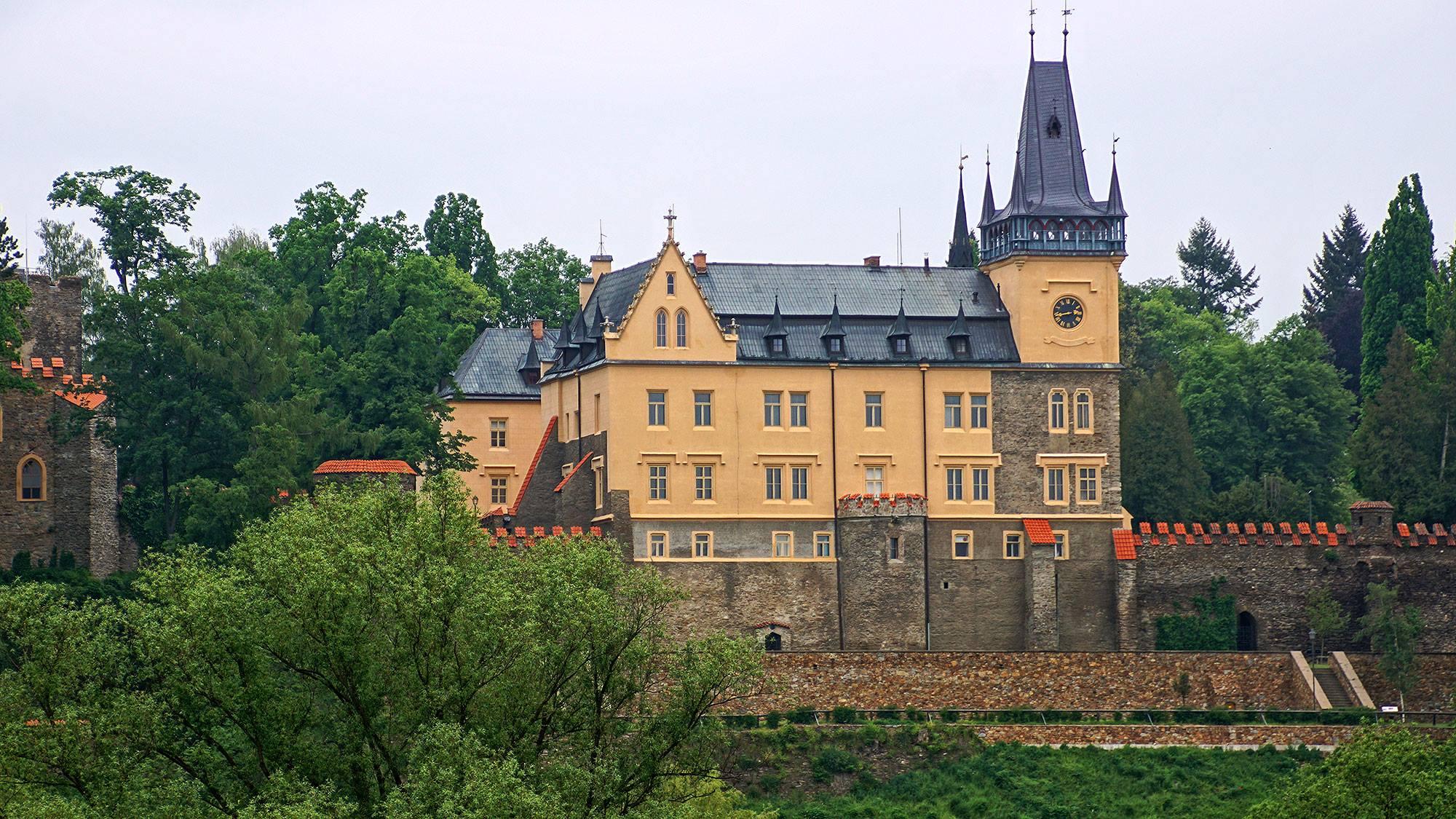 Pałac Zruč nad Sázavou
