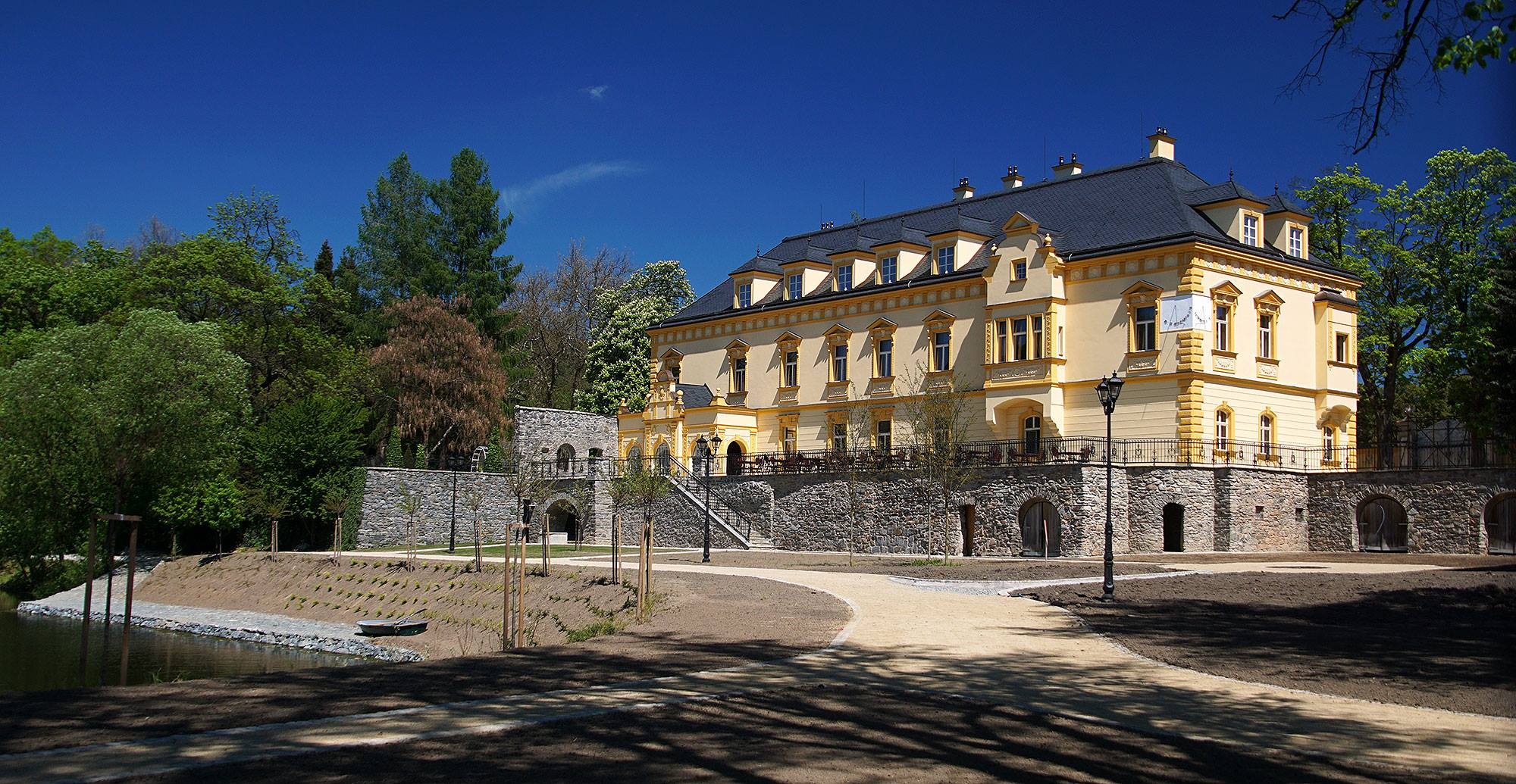 Pałac Sobotín