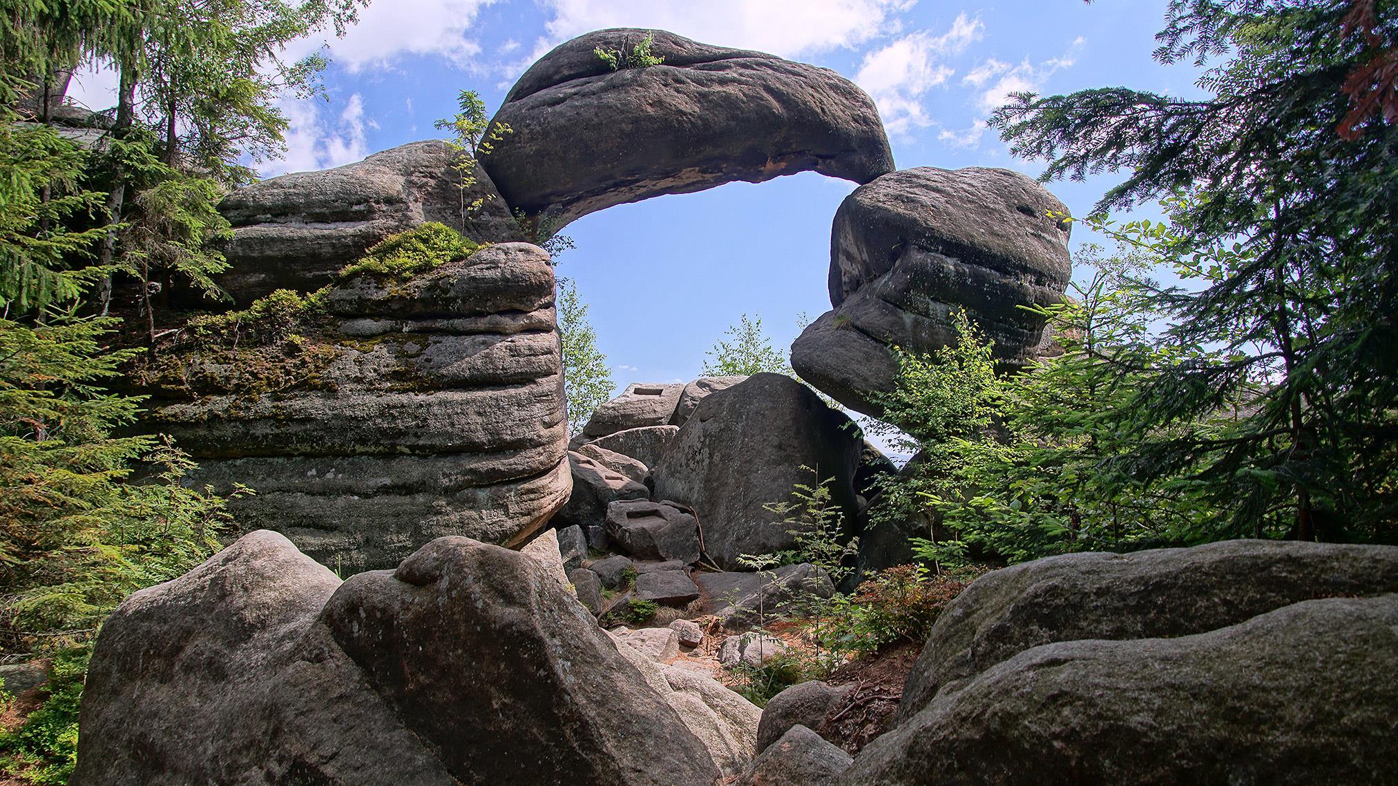 Kamenná brána v Broumovských stěnách